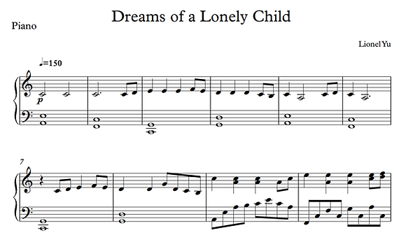 Dreams of a Violin (Duet, Short Ver.)