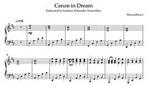 Canon in Dream