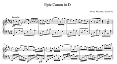 Epic Canon in D