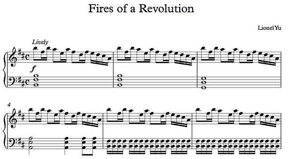 Fires of a Revolution
