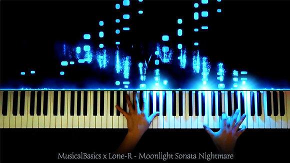 Moonlight Sonata Nightmare - Performance MIDI