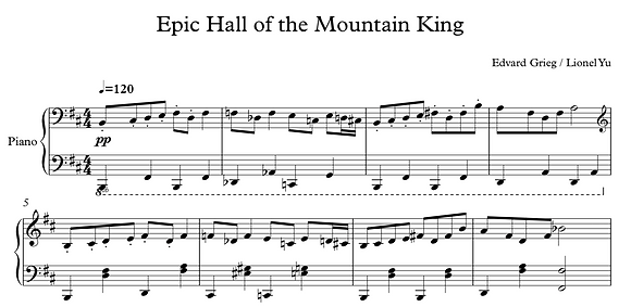 Epic Hall of the Mountain King