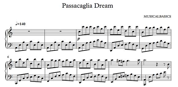 Passacaglia Dream