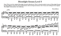 5th Level of Moonlight Sonata