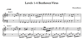 Levels 1-4 of Beethoven Virus