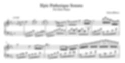 Epic Pathetique Sonata