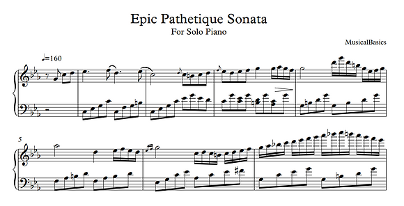 Epic Pathetique Sonata