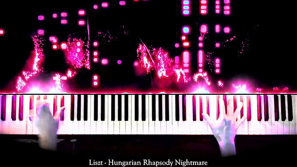 Hungarian Rhapsody Nightmare - Performance MIDI
