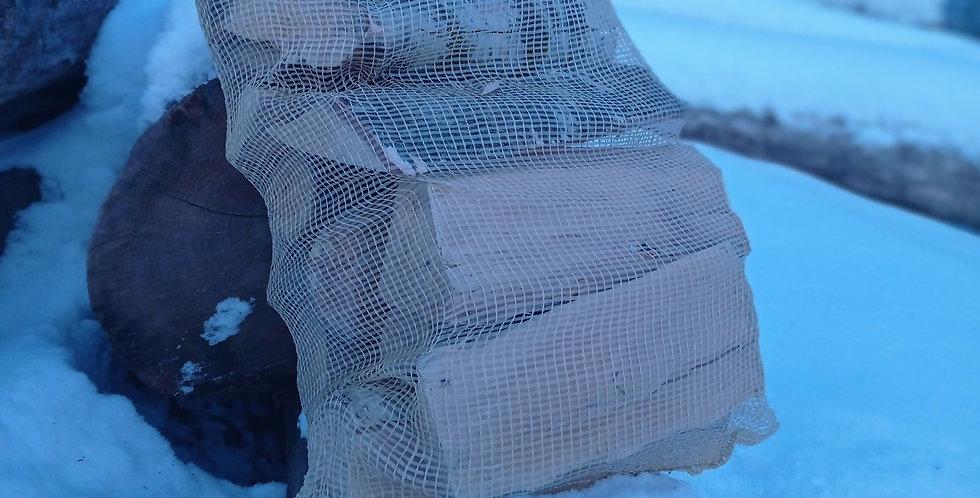 Maišytos malkos 40L dydžio maišelyje