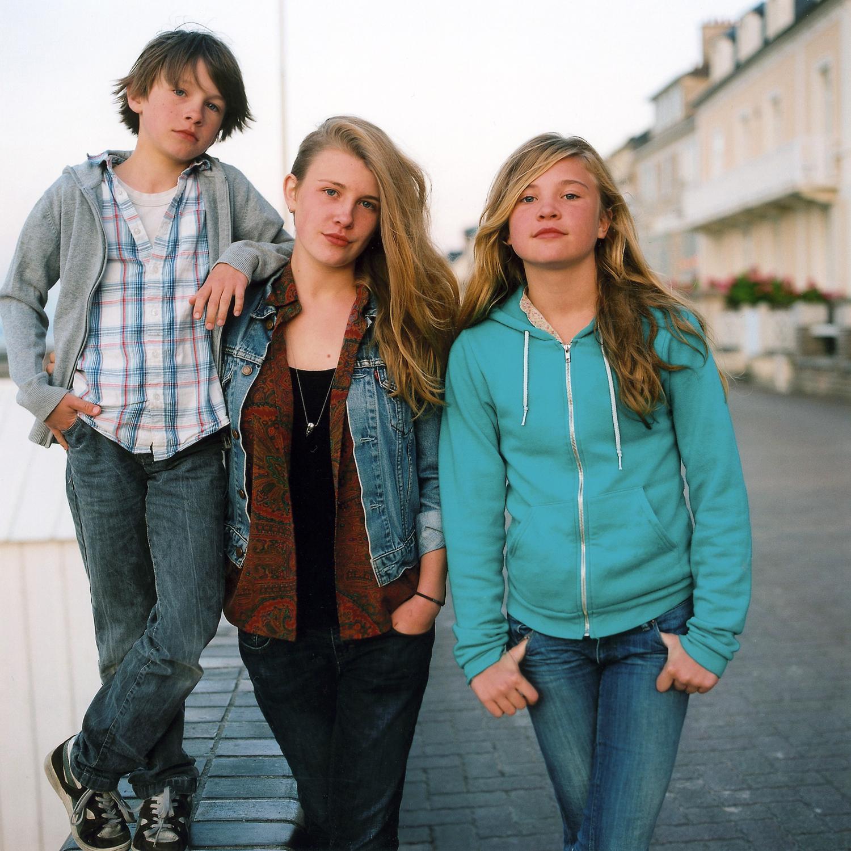 Martin, Elise, Lucie, St Aubin.
