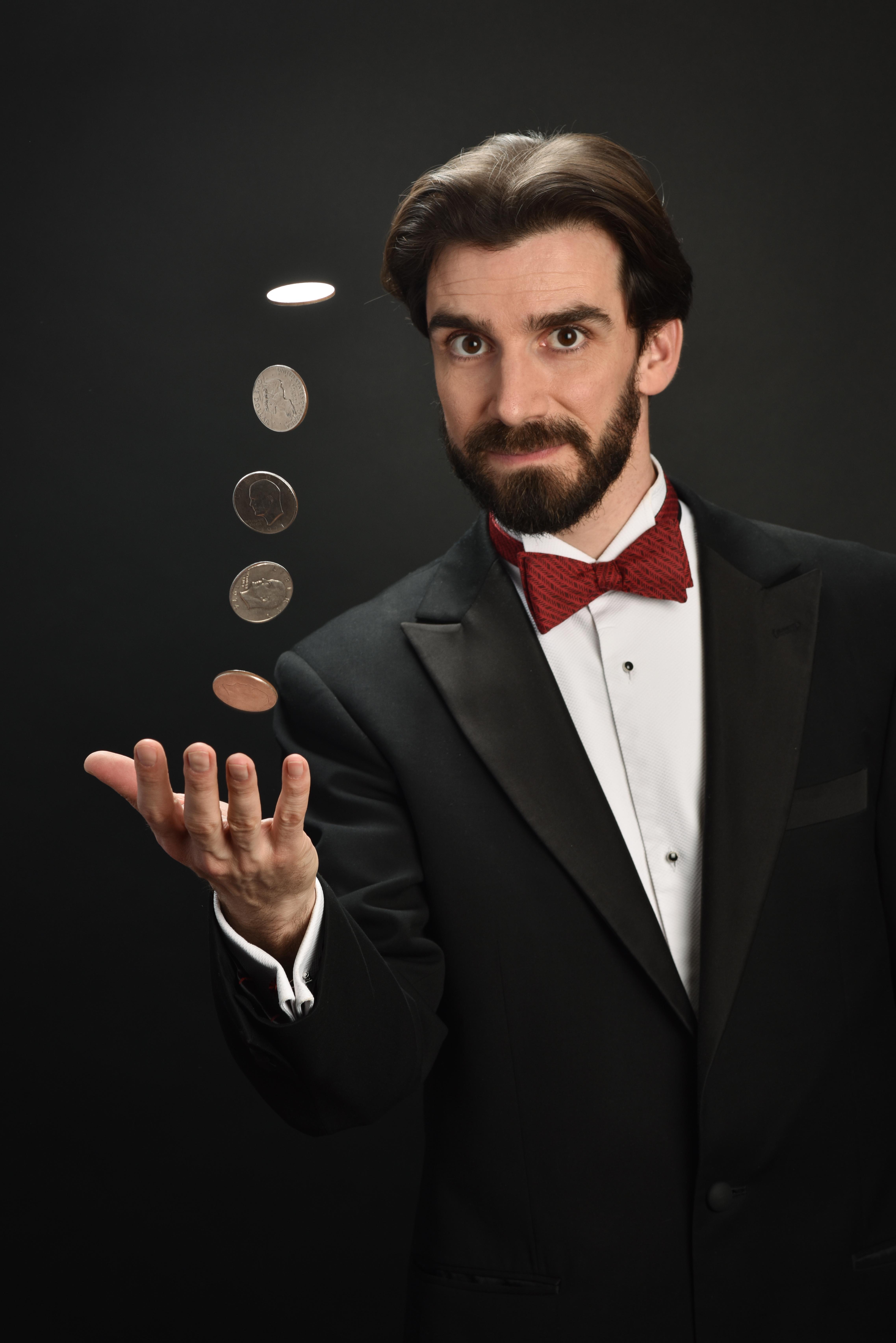 Benoit Rosemond, magicien.