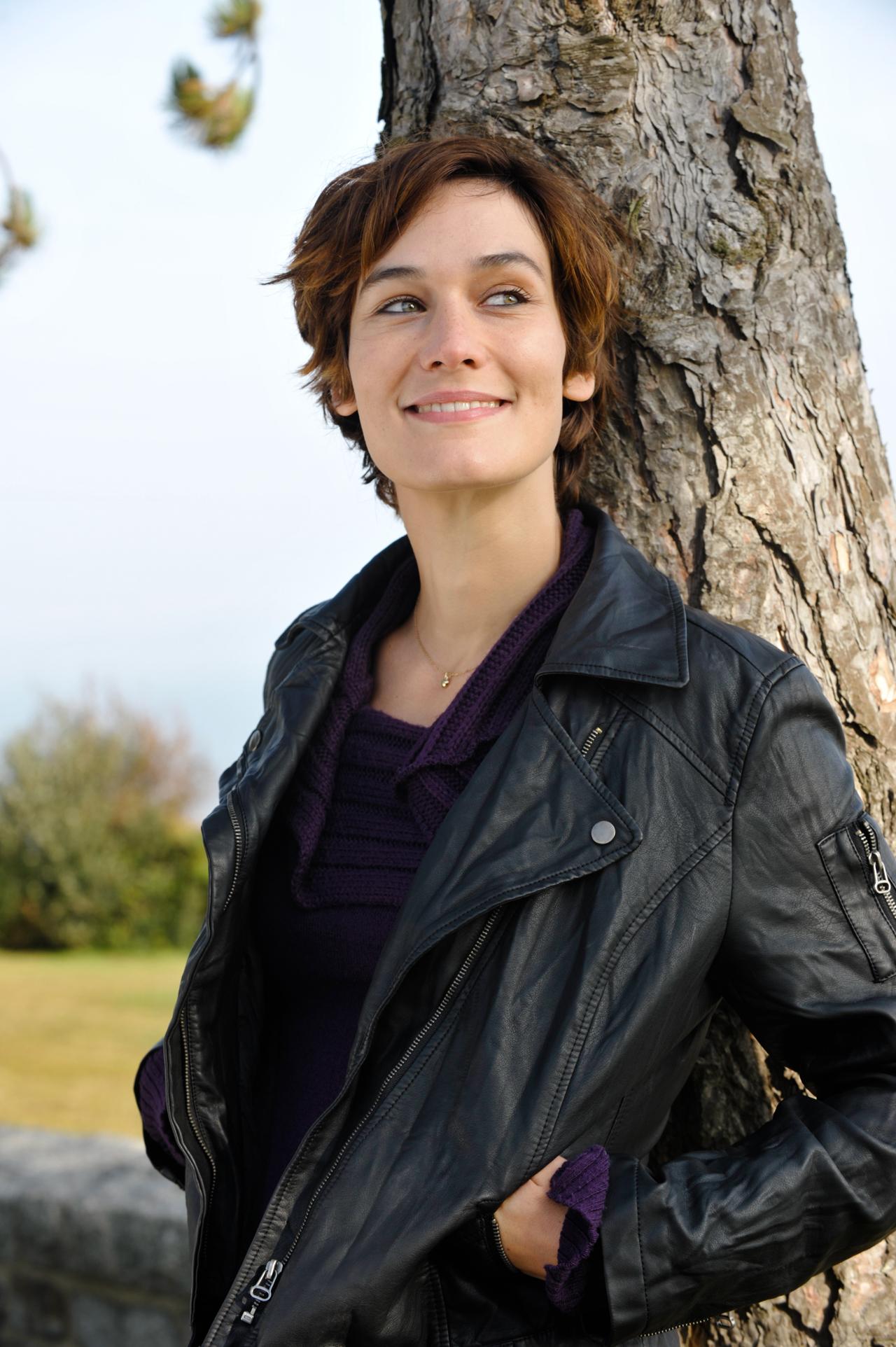 Clotilde Hesme, comédienne.