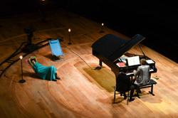 Nuit Blanche, récital Satie.