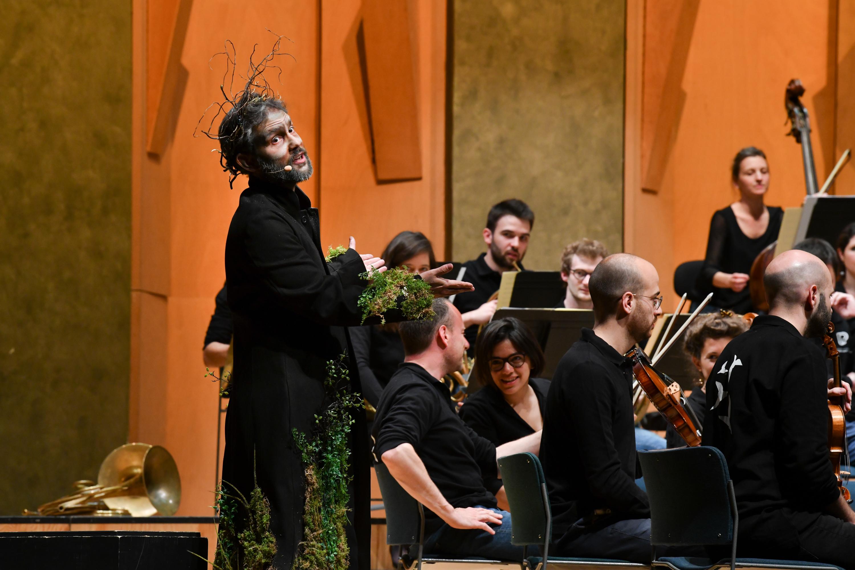 Igor Bouin, baryton, orchestre Les Siècles.