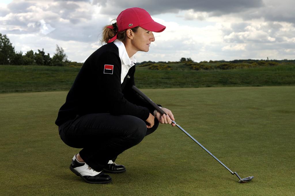 Glawdys Nocera, golfeuse