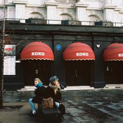 Elise et Lucie, Londres.