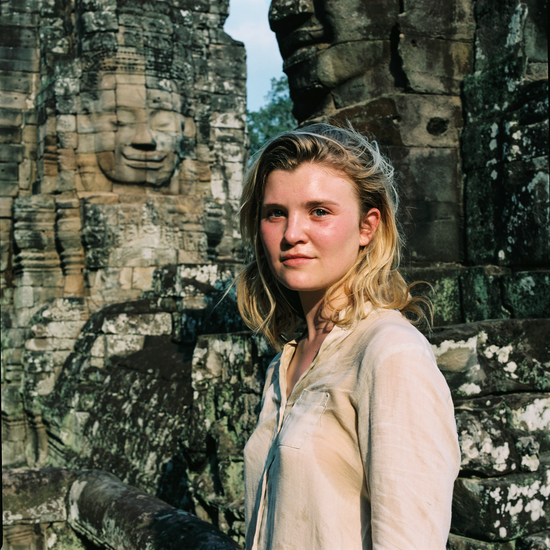 Elise, Cambodge.