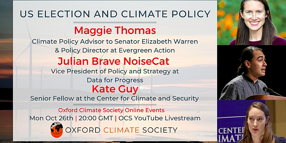 OCS Event: US Election & Climate Policy