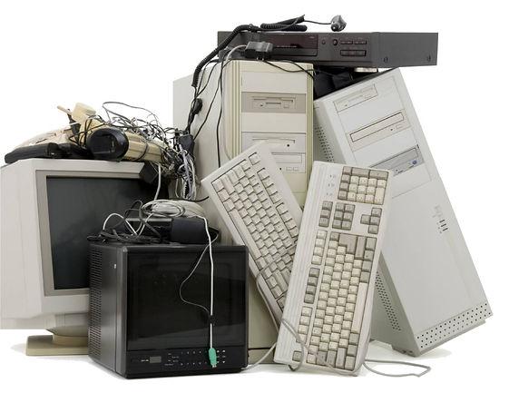 lixo eletrônico, logística reverda de eletrônicos e outros materiais