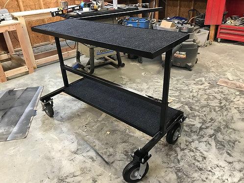 Telescoping Synth/Piano Cart