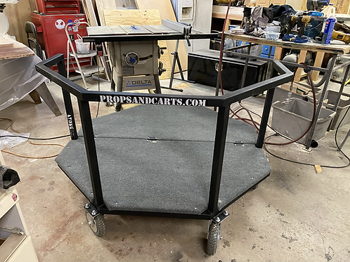 Drumset Cart (outdoor casters)