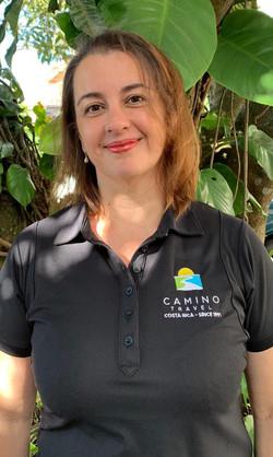 Camino Travel staff - Ana Cristina Murillo