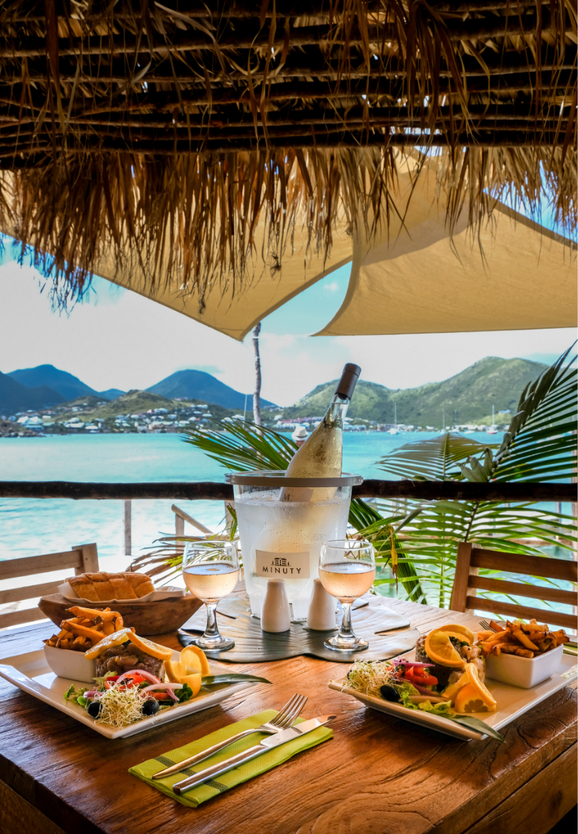 Restaurant le Karibuni on Pinel Island