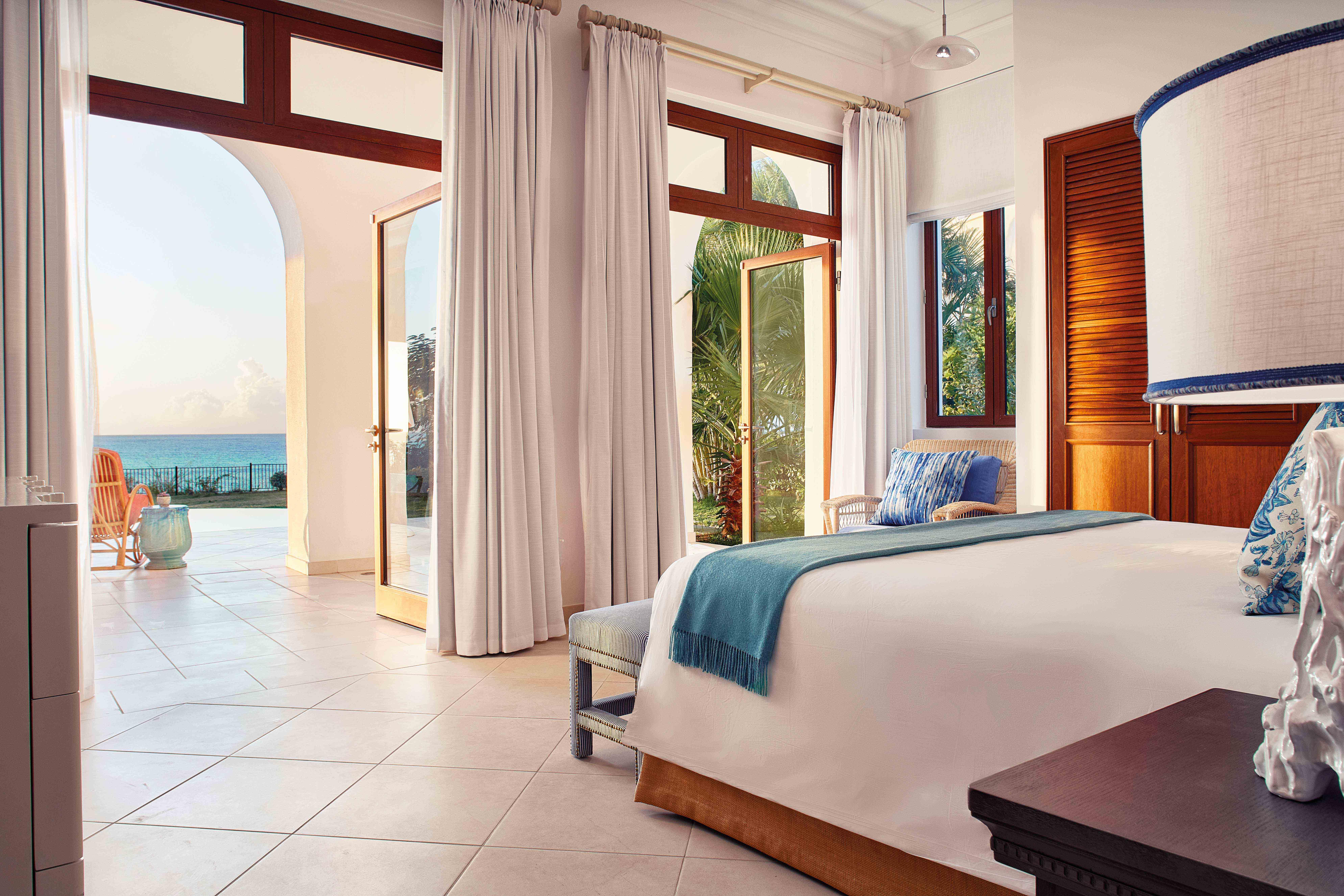 Chambre Vue Mer Villa Hotel La Samanna