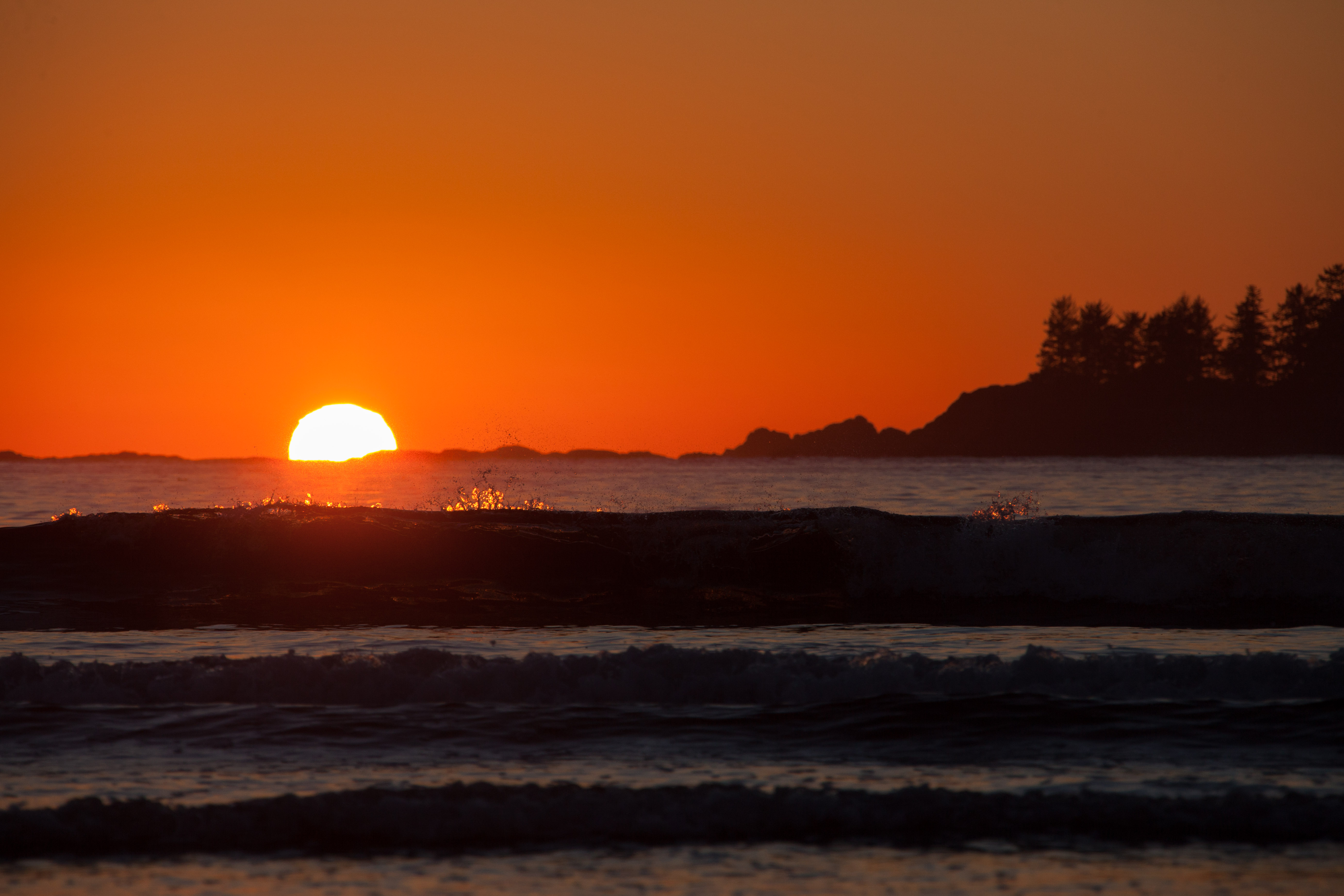 Chesterman Beach Tofino Sunset Jenn Dyks