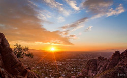 N Beautiful Sunset
