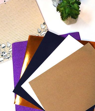 Papéis para recorte na I-Craft