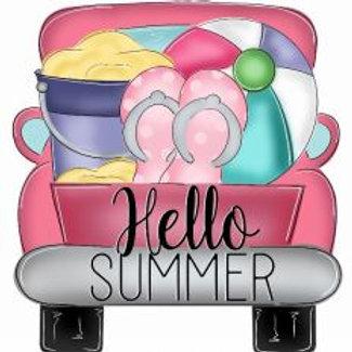 "12"" Hello Summer Truck"