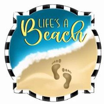 """12"""" Life's A Beach"""