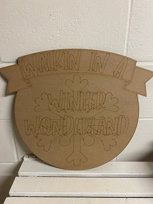 """20"""" Winter Wonderland"""