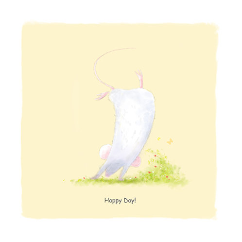 Mouse series 2 - Happy