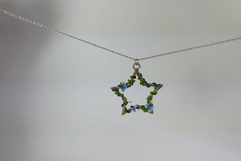 Flower Star Pendant