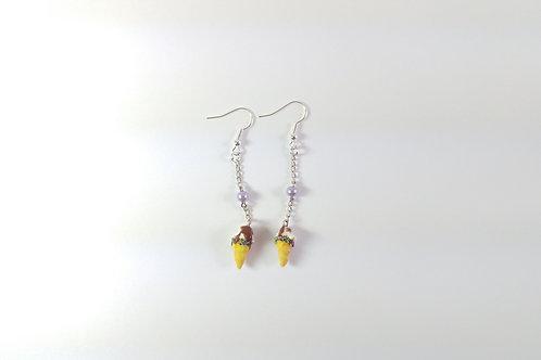 Icecream earrings