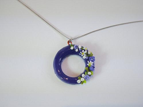 Flower ring Pendant