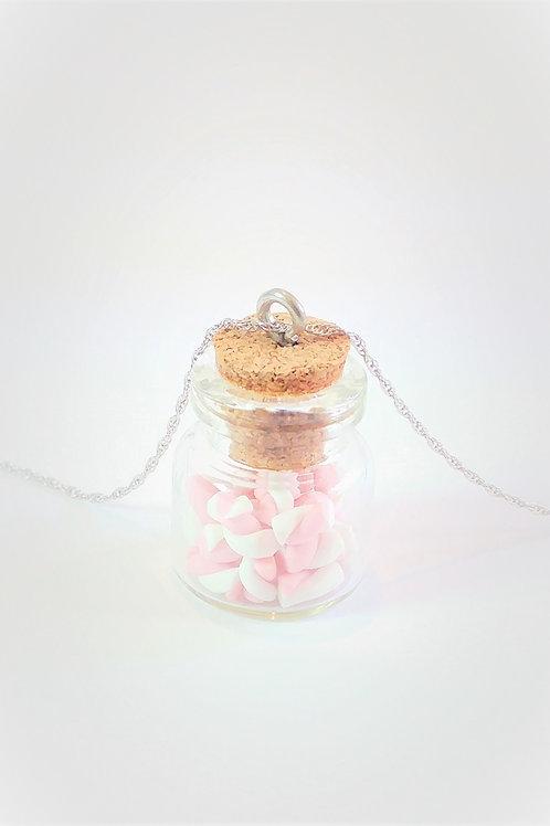 Marshmello Jar Pendant