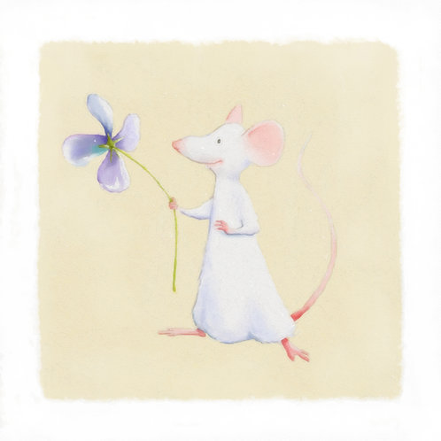 Mouse series 1 - Flower