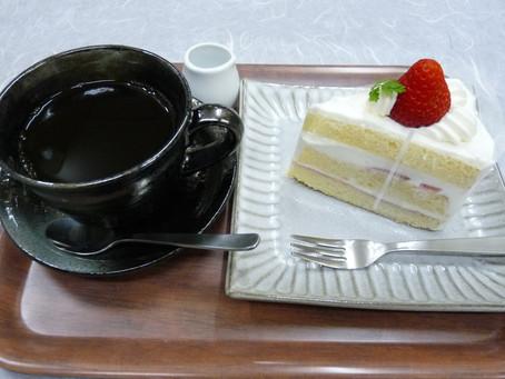 ケーキセットが期間限定¥500