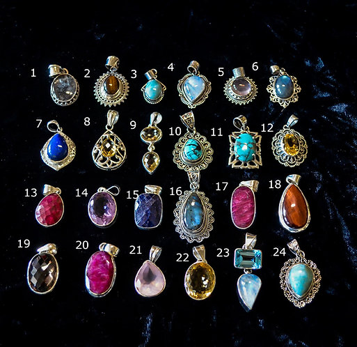 Small Assorted Pendants