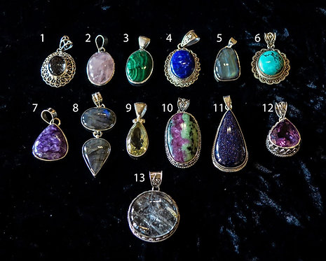 Large Assorted Pendants