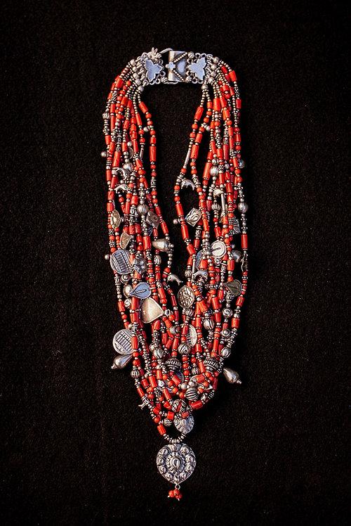 Coral Necklace Piece