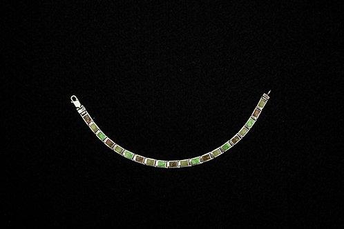 Sterling Silver Bracelets (w/Gems)