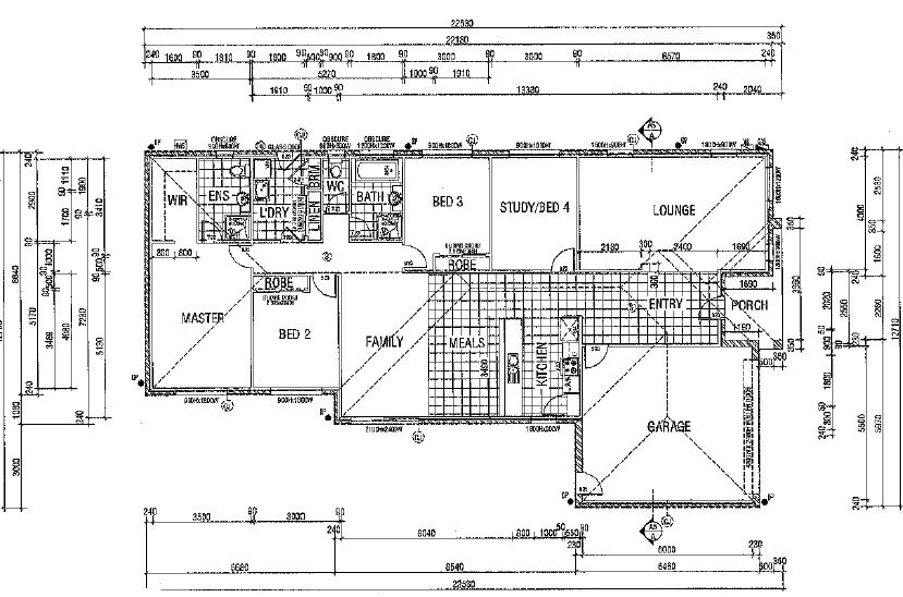 3 Olivia Rise Floor plan