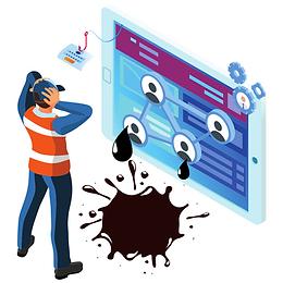 """Adicione tokens à sua base e descubra vazamentos com precisão.  Utilize honeytokens (credenciais """"isca"""") em sua base e acelere a detecção de vazamentos da web superficial à deep e dark web. Ganhe tempo e precisão na análise da origem dos dados, mais eficiência e mais rapidez para fazer a reação."""