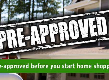 Get Pre-Approved.  No Cost or Obligation!