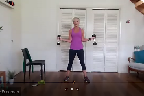 Holiday Exercise Video Link