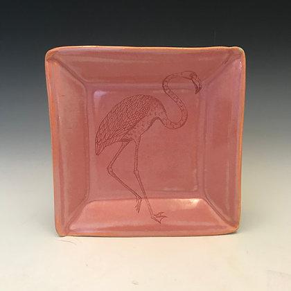 flamingo tapa in sunset pink